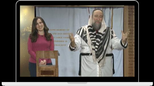 Rabbi Nochum and Fruma Schapiro