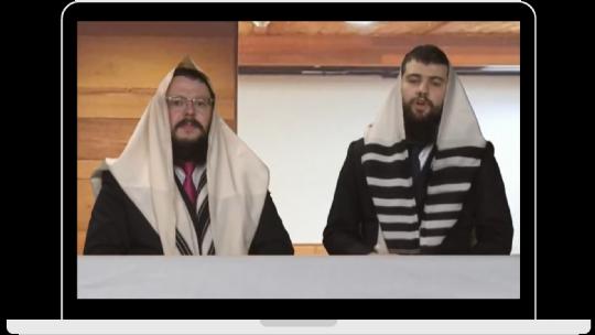 Rabbi Mendy and Chanoch